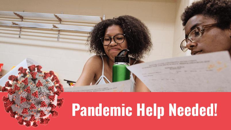 Pandemic Help Needed!